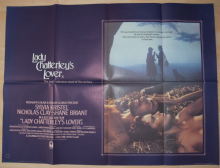 Lady Chatterley's Lover (1981) Sylvia Kristel Film Poster - UK Quad